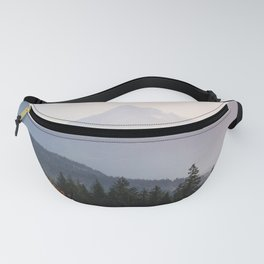 Mount Hood over the Columbia River Gorge Fanny Pack