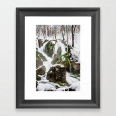 Flowing Framed Art Print