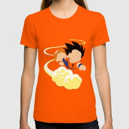 Sangoku, Krilin & the Flying Nimbus T-shirt