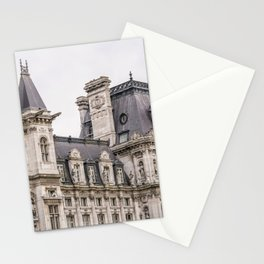 Paris Hotel de Ville Stationery Cards