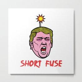 Short Fuse Metal Print