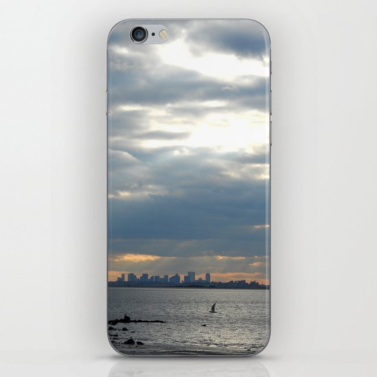 North Shore View iPhone & iPod Skin