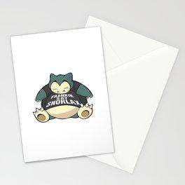 Frankie Say Snorlax Stationery Cards