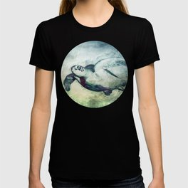 Flying Green Sea Turtle T-shirt