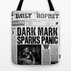 Daily Prophet newspaper Tote Bag