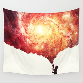 The universe in a soap-bubble! Wall Tapestry