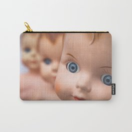Baby Blue Eyes Carry-All Pouch
