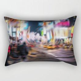 Times square NY Rectangular Pillow