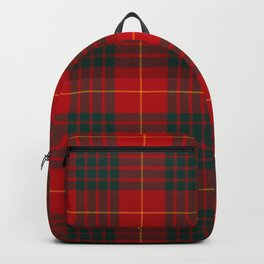 CAMERON CLAN SCOTTISH KILT TARTAN DESIGN Backpack