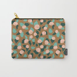 Apricot Rose Orchard delight Carry-All Pouch