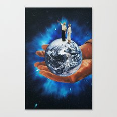untitled space Canvas Print