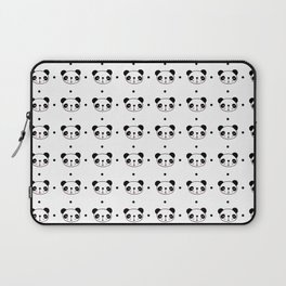 Panda head pattern Laptop Sleeve