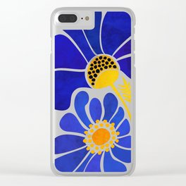 The Happiest Flowers Clear iPhone Case