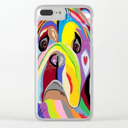 Bulldog Clear iPhone Case