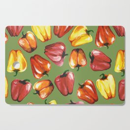 Bell Peppers Pattern Cutting Board