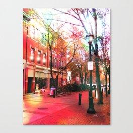 Salem Lights Canvas Print