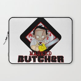 leather face Laptop Sleeve