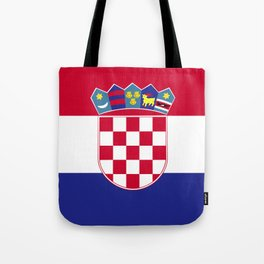 Croatia flag emblem Tote Bag