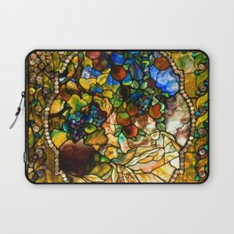 Louis Comfort Tiffany - Decorative stained glass 20. Laptop Sleeve