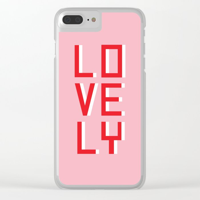 Lovely Clear iPhone Case