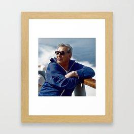 Brezhnev Framed Art Print