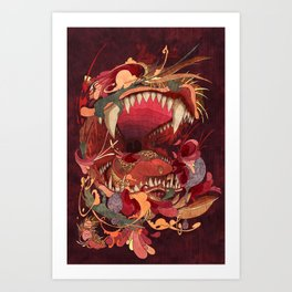 Break Your Teeth Art Print