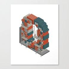 LETTER O Canvas Print