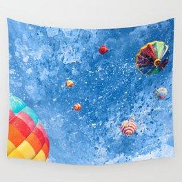 Acrylic Air Balloons Wall Tapestry