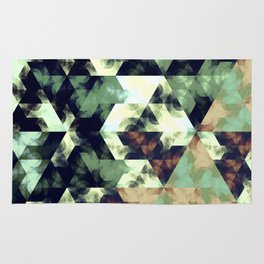 Green Hex Rug