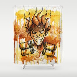 The Demolitionist Shower Curtain