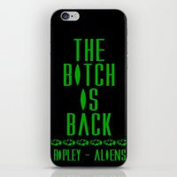 aliens iPhone & iPod Skins featuring Aliens by SwanniePhotoArt