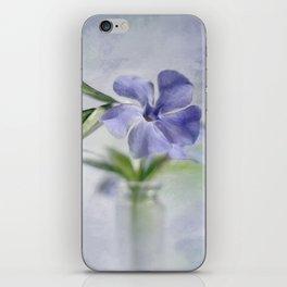 Periwinkle in vial Art #2 iPhone Skin