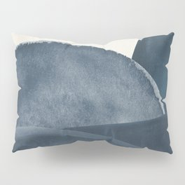 Blue Landscape Pillow Sham