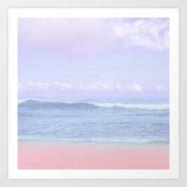 Pastel vibes 50 Art Print