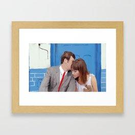 You never have ideas, only feelings. Framed Art Print