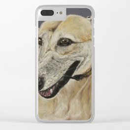 Greyhound Clear iPhone Case