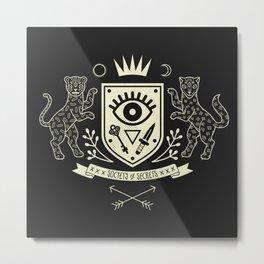 The Secret Society Metal Print
