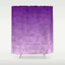 Purple Ombre - Flipped Shower Curtain