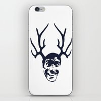 evil dead iPhone & iPod Skins featuring Deer Ash - Evil Dead by Iamzombieteeth Clothing