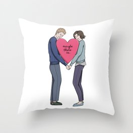 Maybe There Is Throw Pillow