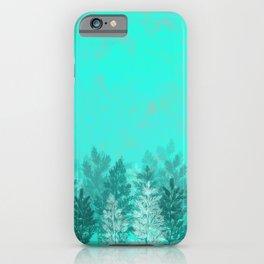 Winter Pine Trees iPhone Case