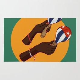 Cuban Maracas Rug