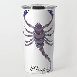 Starlight Scorpio Travel Mug