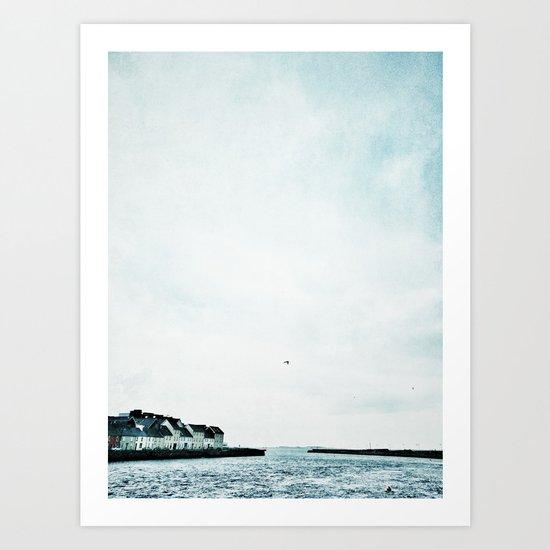 Galway, Ireland Art Print