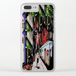Run! Clear iPhone Case