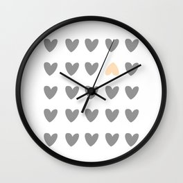 heart of contradiction Wall Clock