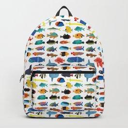 Tropical Fish chart Backpack