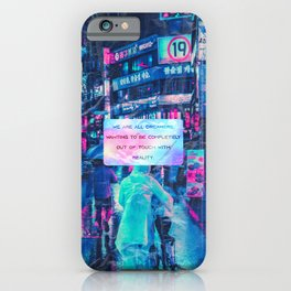 We are all dreamers iPhone Case