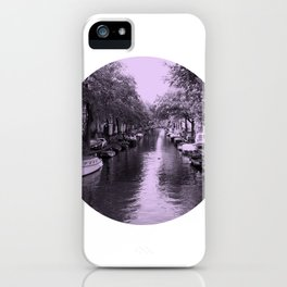 Amsterdam Canal #2 iPhone Case