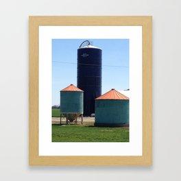 silos Framed Art Print